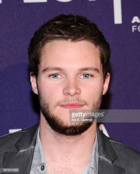 Actor Jack Reynor attends the screening of 'What Richard Did' during the 2013 Tribeca Film Festival at Clearview Chelsea Cinemas on April 22 2013 in...