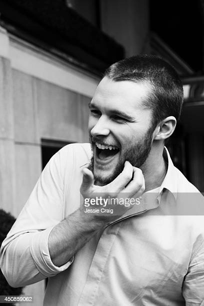 Actor Jack Reynor is photographed for Rollacoaster magazine on January 18 2014 in London England