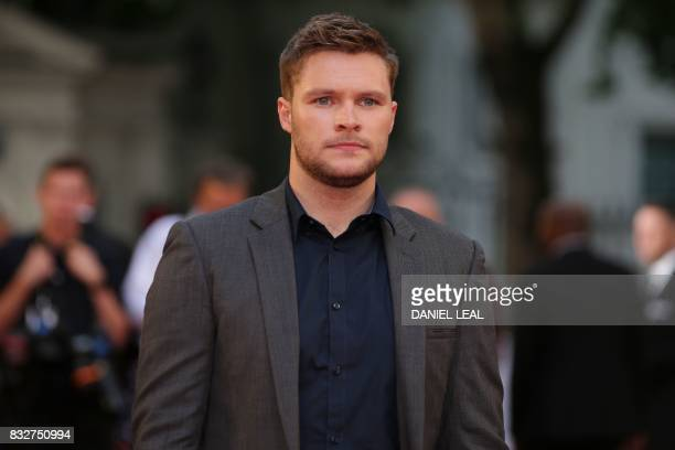 US actor Jack Reynor poses for a photograph upon arrival at the European premiere of 'Detroit' in London on August 16 2017 / AFP PHOTO / Daniel...
