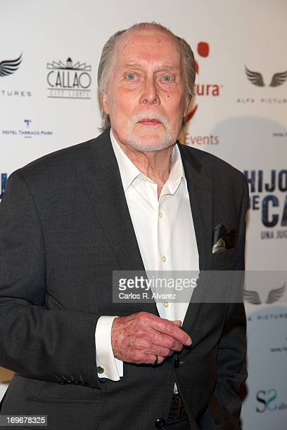 Actor Jack Taylor attends the 'Hijo de Cain' premiere at the Callao cinema on May 30 2013 in Madrid Spain