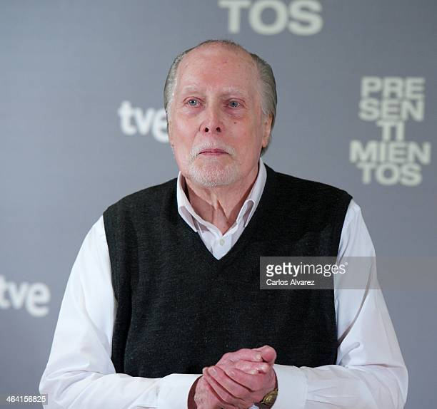 Actor Jack Taylor attends the 'Presentimientos' photocall at the Princesa cinema on January 21 2014 in Madrid Spain
