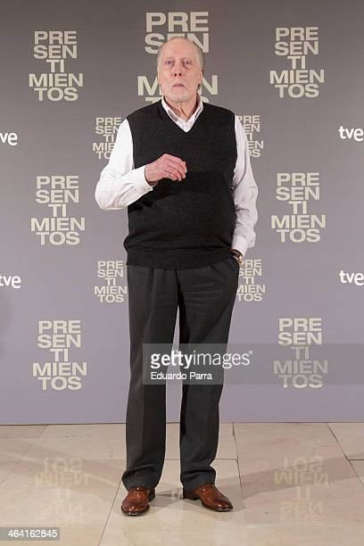 Actor Jack Taylor attends the 'Presentimientos' photocall at the Princesa cinema on January 21 2014 in Madrid Spain on January 21 2014 in Madrid Spain
