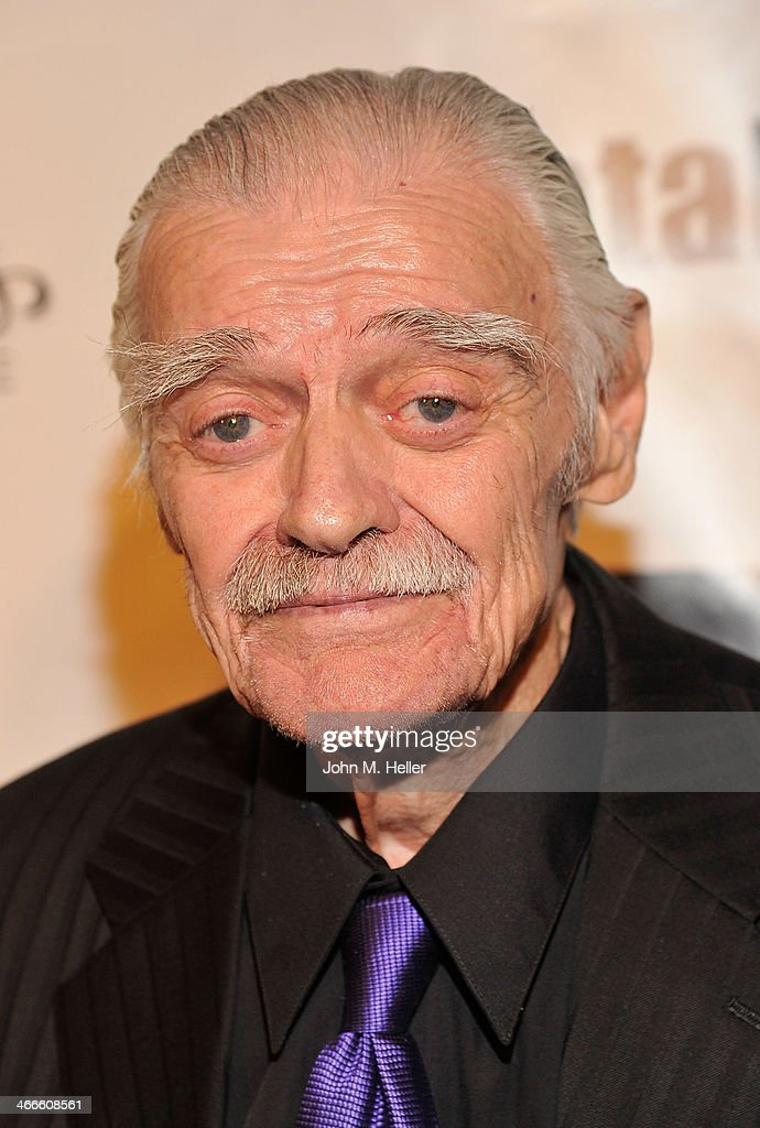 Actor Jack Wallace attends the 2nd annual Borgnine Movie Star Gala honoring actor Joe Mantegna at the Sportman's Lodge on February 1, 2014 in Studio City, California.