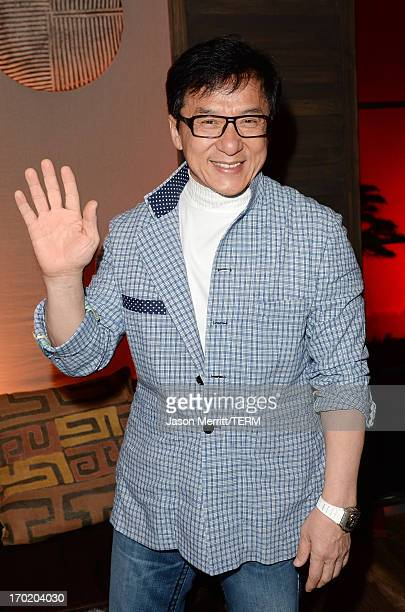 Actor Jackie Chan attends Spike TV's Guys Choice 2013 at Sony Pictures Studios on June 8 2013 in Culver City California