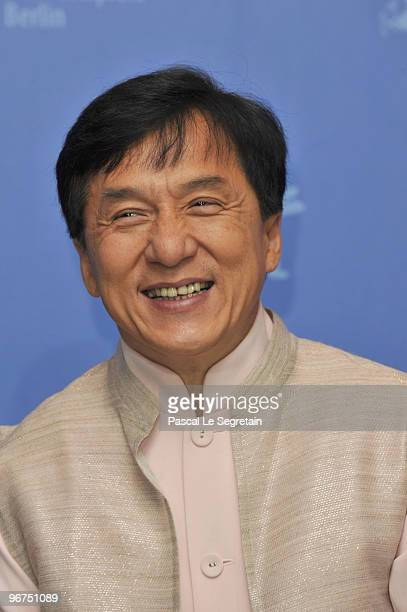 Actor Jackie Chan attends the 'Da Bing Xiao Jiang' Photocall during day six of the 60th Berlin International Film Festival at the Grand Hyatt Hotel...