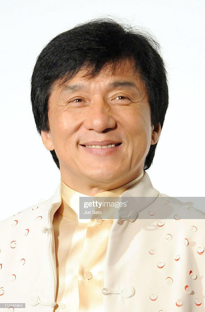 Actor Jackie Chan attends 'The Forbidden Kingdom' Japan Premiere at Marunouchi Piccadilly on July - actor-jackie-chan-attends-the-forbidden-kingdom-japan-premiere-at-picture-id112451941