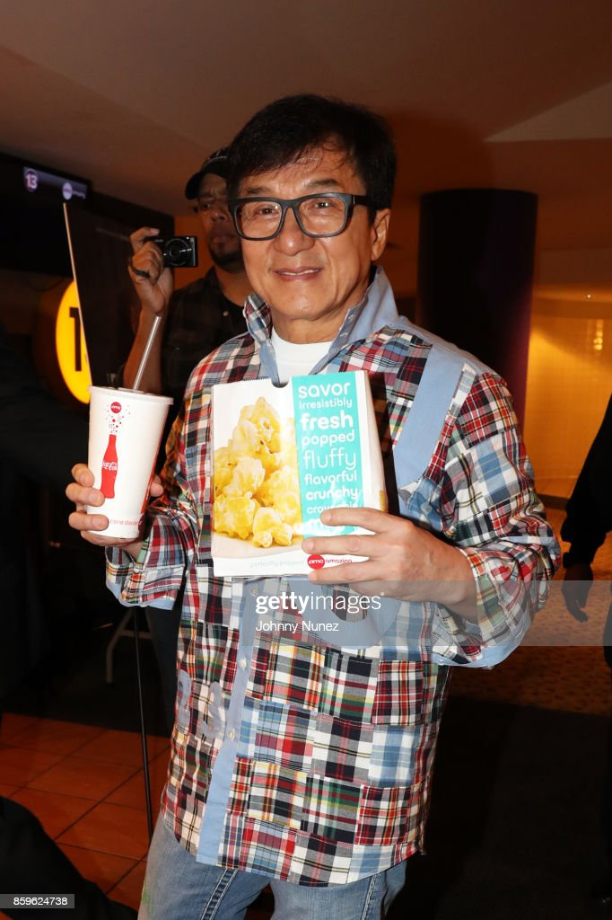 Actor Jackie Chan attends the New York screening of 'The Foreigner' on October 9, 2017 in New York City.