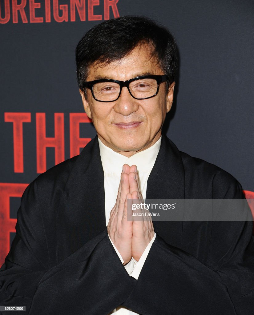 Actor Jackie Chan attends the premiere of 'The Foreigner' at ArcLight Hollywood on October 5, 2017 in Hollywood, California.