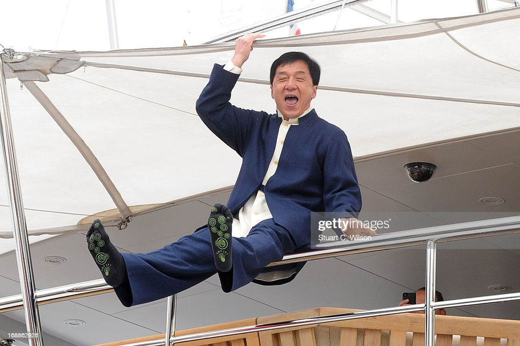 Actor Jackie Chan attends the 'Skiptrace' Photocall during the 66th Annual Cannes Film Festival at the Palais des Festivals on May 16, 2013 in Cannes, France.