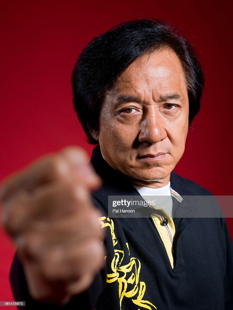 Actor <a gi-track='captionPersonalityLinkClicked' href=/galleries/search?phrase=Jackie+Chan&family=editorial&specificpeople=171455 ng-click='$event.stopPropagation()'>Jackie Chan</a> is photographed for the Observer on August 5, 2014 in London, England.