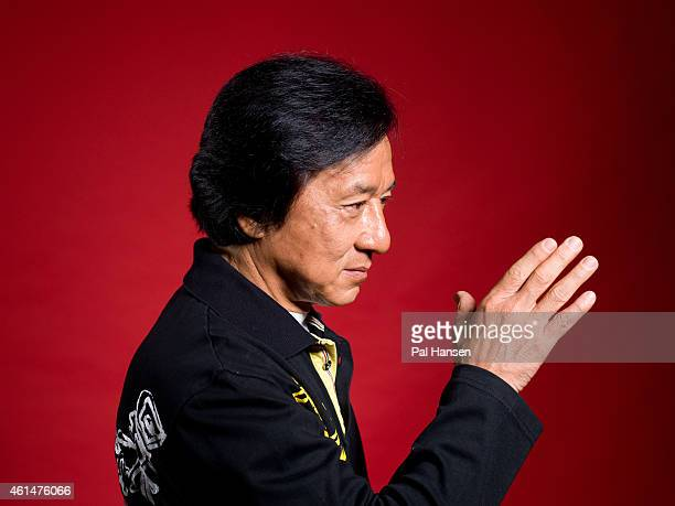 Actor Jackie Chan is photographed for the Observer on August 5 2014 in London England