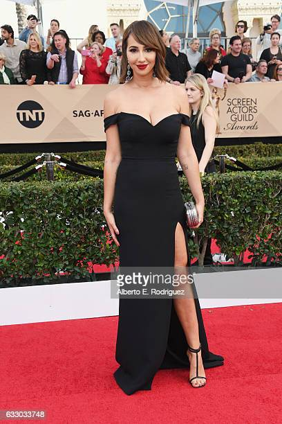 Actor Jackie Cruz attends the 23rd Annual Screen Actors Guild Awards at The Shrine Expo Hall on January 29 2017 in Los Angeles California