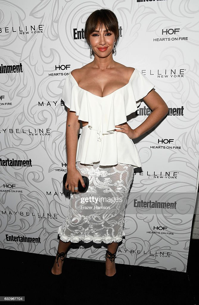 Actor Jackie Cruz attends the Entertainment Weekly Celebration of SAG Award Nominees sponsored by Maybelline New York at Chateau Marmont on January 28, 2017 in Los Angeles, California.