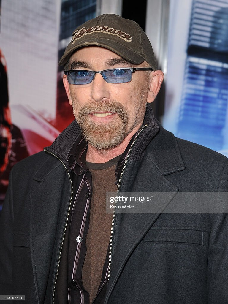 Actor <a gi-track='captionPersonalityLinkClicked' href=/galleries/search?phrase=Jackie+Earle+Haley&family=editorial&specificpeople=2009704 ng-click='$event.stopPropagation()'>Jackie Earle Haley</a> arrives at the premiere of Columbia Pictures' 'Robocop' at TCL Chinese Theatre on February 10, 2014 in Hollywood, California.