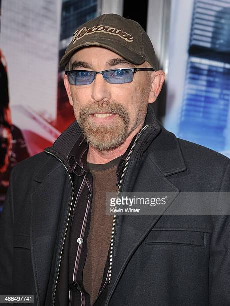 Actor Jackie Earle Haley arrives at the premiere of Columbia Pictures' 'Robocop' at TCL Chinese Theatre on February 10 2014 in Hollywood California