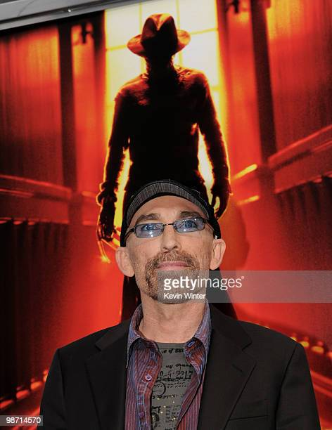 Actor Jackie Earle Haley arrives at the premiere of New Line's 'A Nightmare on Elm Street' at the Chinese Theater on April 27 2010 in Los Angeles...