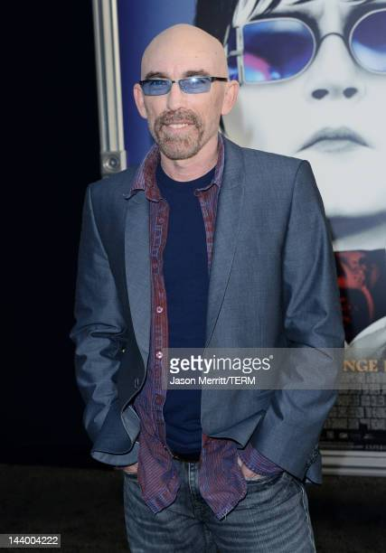 Actor Jackie Earle Haley arrives at the premiere of Warner Bros Pictures' 'Dark Shadows' at Grauman's Chinese Theatre on May 7 2012 in Hollywood...