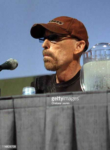 Actor Jackie Earle Haley attends 'Nightmare on Elm Street' panel on day 2 of the 2009 ComicCon International Convention on July 24 2009 in San Diego...