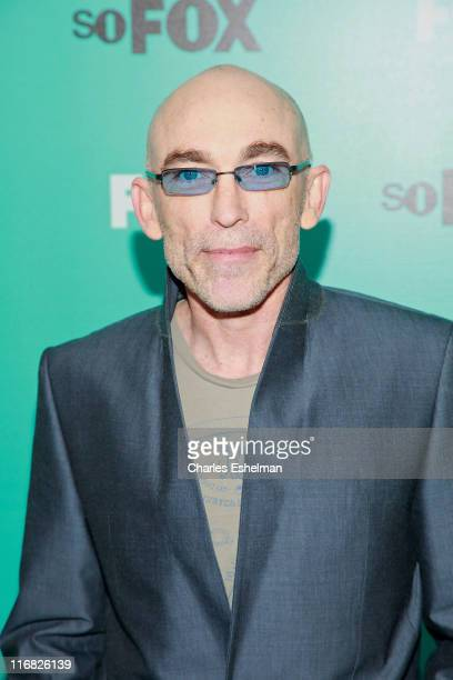 Actor Jackie Earle Haley attends the 2009 FOX UpFront after party at Wollman Rink Central Park on May 18 2009 in New York City