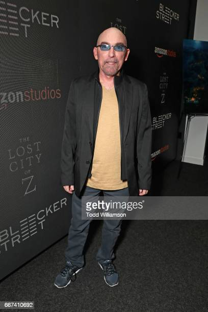 Actor Jackie Earle Haley attends the Amazon Studios and Bleecker Street special screening with Explorer's Club of James Gray's THE LOST CITY OF Z on...