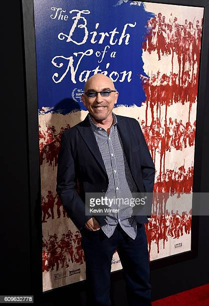 Actor Jackie Earle Haley attends the premiere of Fox Searchlight Pictures' 'The Birth of a Nation' at ArcLight Cinemas Cinerama Dome on September 21...