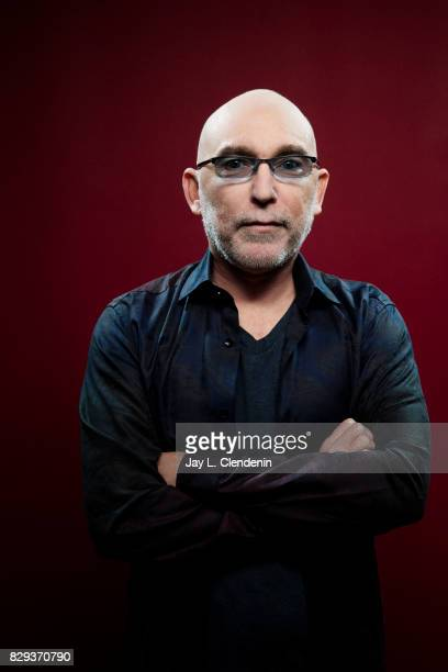 Actor Jackie Earle Haley from the television series 'The Tick' is photographed in the LA Times photo studio at ComicCon 2017 in San Diego CA on July...