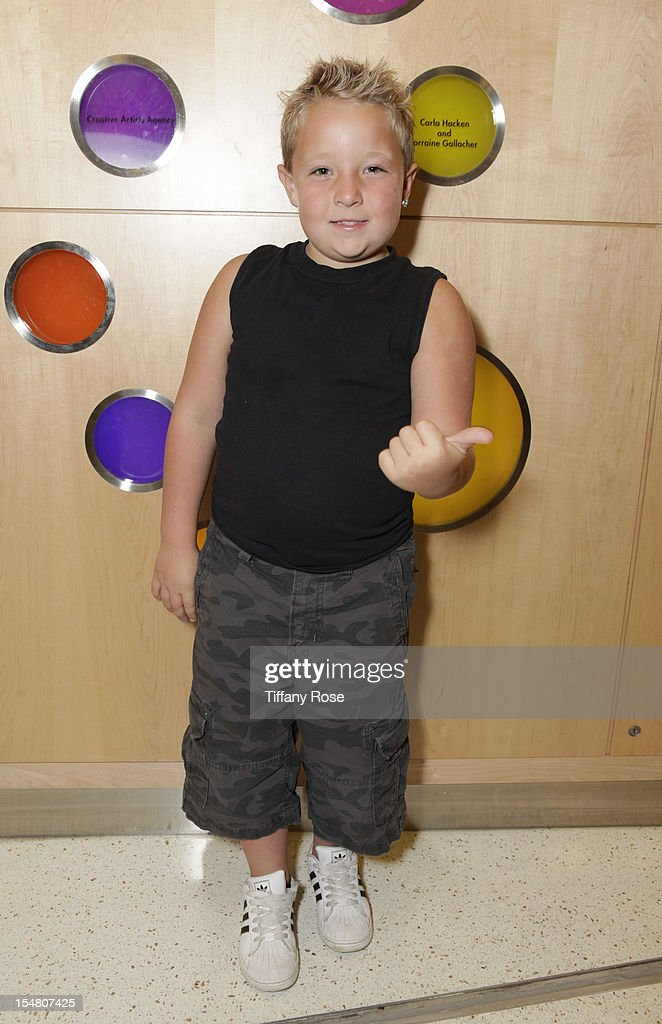 Actor Jackson Nicoll attends 'Fun Size' Special Screening At Children's Hospital Los Angeles at Childrens Hospital Of Los Angeles on October 26 2012...