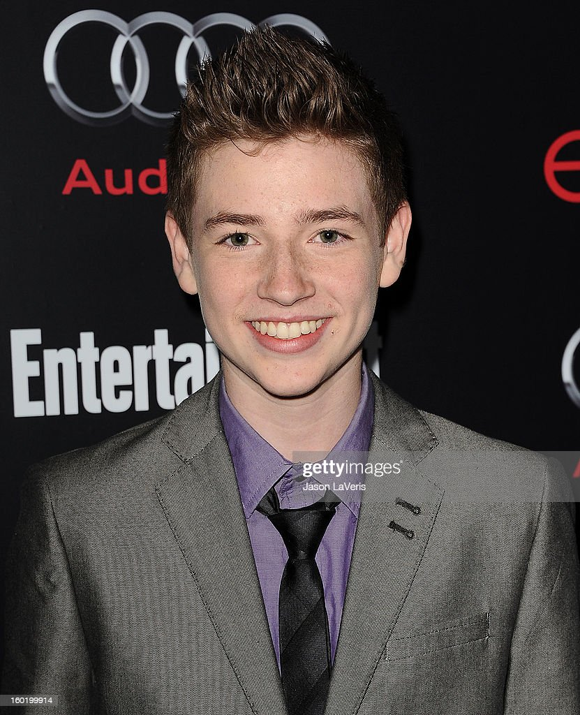 Actor Jackson Pace attends the Entertainment Weekly Screen Actors Guild Awards pre-party at Chateau Marmont on January 26, 2013 in Los Angeles, California.
