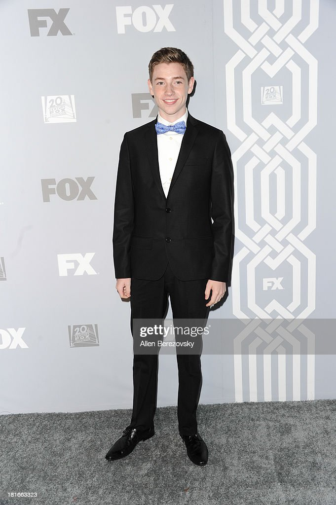 Actor Jackson Pace attends the Fox Broadcasting, Twentieth Century Fox Television and FX 2013 Emmy nominees celebration at Soleto on September 22, 2013 in Los Angeles, California.