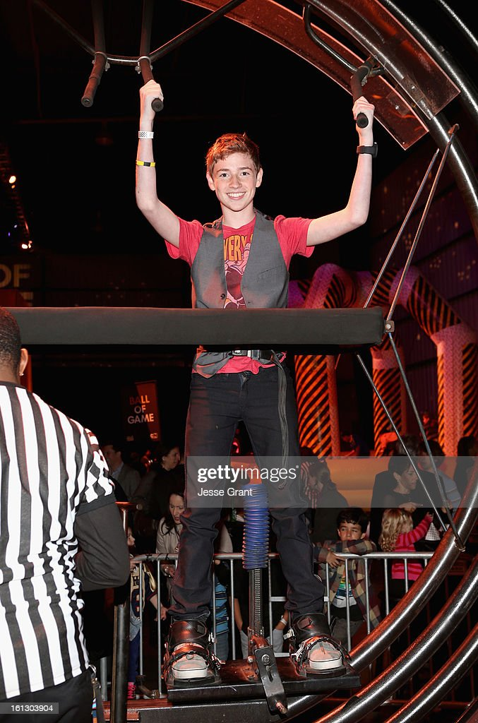 Actor Jackson Pace attends the Third Annual Hall of Game Awards hosted by Cartoon Network at Barker Hangar on February 9, 2013 in Santa Monica, California. 23270_005_JG_0066.JPG