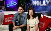 Actor Jackson Rathbone and Actress Bailee Madison at the Young Hollywood Studio on May 17 2012 in Los Angeles California
