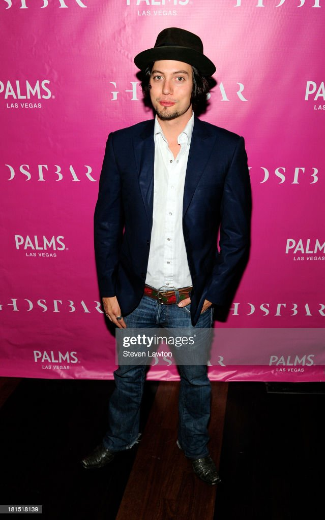 Actor Jackson Rathbone arrives at Ghostbar at the Palms Casino Resort on September 21, 2013 in Las Vegas, Nevada.