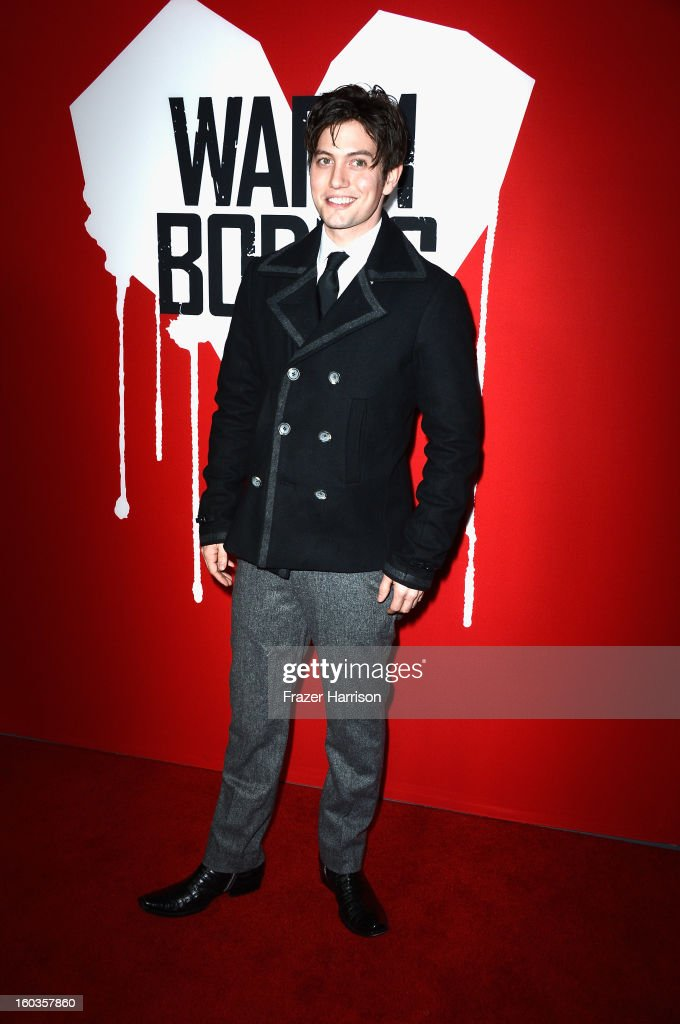 Actor Jackson Rathbone arrives at the premiere of Summit Entertainment's 'Warm Bodies' at ArcLight Cinemas Cinerama Dome on January 29, 2013 in Hollywood, California.