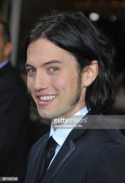 Actor Jackson Rathbone arrives at 'The Twilight Saga New Moon' premiere held at the Mann Village Theatre on November 16 2009 in Westwood California