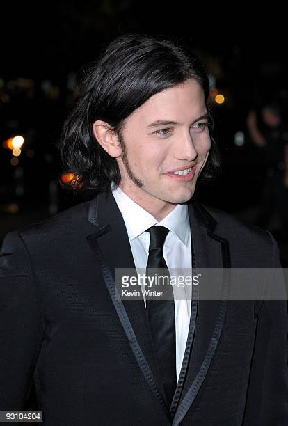Actor Jackson Rathbone arrives to the premiere of Summit Entertainment's 'The Twilight Saga New Moon' at the Mann Village Theater on November 16 2009...