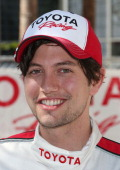 Actor Jackson Rathbone attends the 37th Annual Toyota Pro/Celebrity Race qualifying on April 19 2013 in Long Beach California