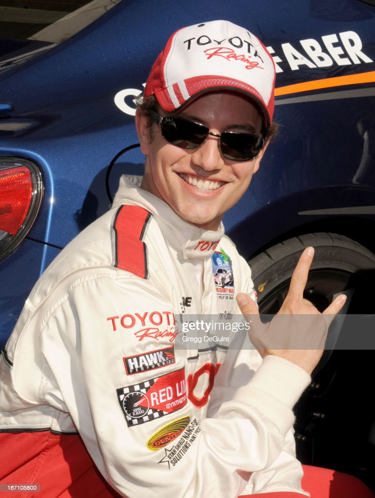 Actor jackson rathbone attends the 37th annual toyota pro celebrity race on april 20