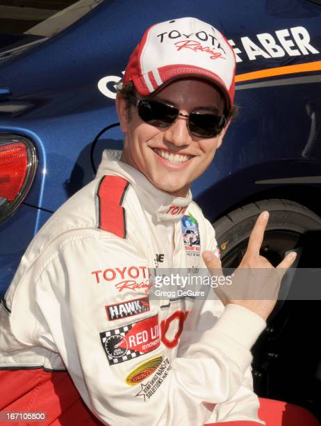 Actor Jackson Rathbone attends the 37th Annual Toyota Pro/Celebrity Race on April 20 2013 in Long Beach California
