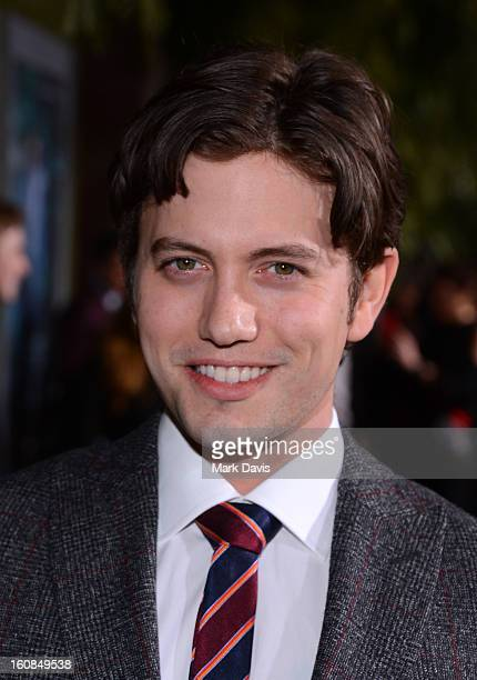 Actor Jackson Rathbone attends the Los Angeles premiere of Warner Bros Pictures' 'Beautiful Creatures' at TCL Chinese Theatre on February 6 2013 in...