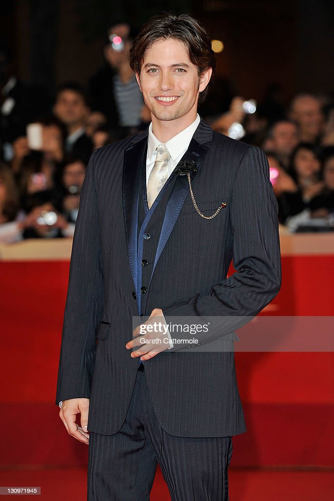 Actor <a gi-track='captionPersonalityLinkClicked' href=/galleries/search?phrase=Jackson+Rathbone&family=editorial&specificpeople=4070053 ng-click='$event.stopPropagation()'>Jackson Rathbone</a> attends the 'The Twilight Saga: Breaking Dawn - Part 1' Premiere during the 6th International Rome Film Festival on October 30, 2011 in Rome, Italy.