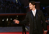 Actor Jackson Rathbone attends the 'The Twilight Saga Breaking Dawn Part 1' premiere during the 6th Rome Film Festival at Auditorium Parco Della...