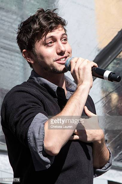 Actor Jackson Rathbone attends the Twilight fan camp concert at LA LIVE on November 10 2012 in Los Angeles California