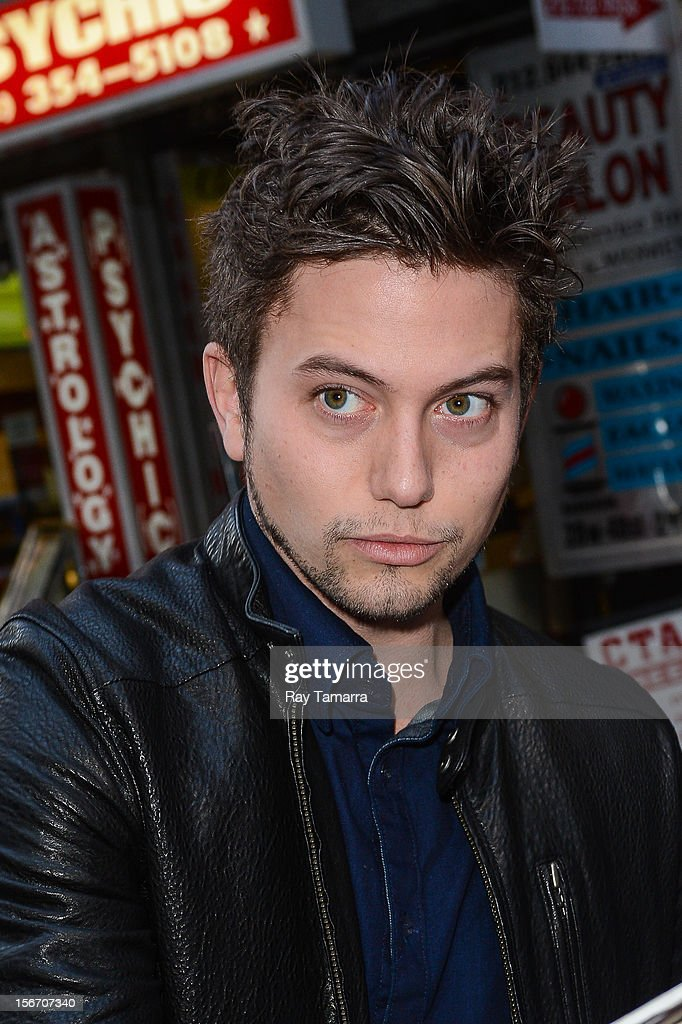 Actor Jackson Rathbone enters the 'Today Show' taping at the NBC Rockefeller Center Studios on November 19, 2012 in New York City.