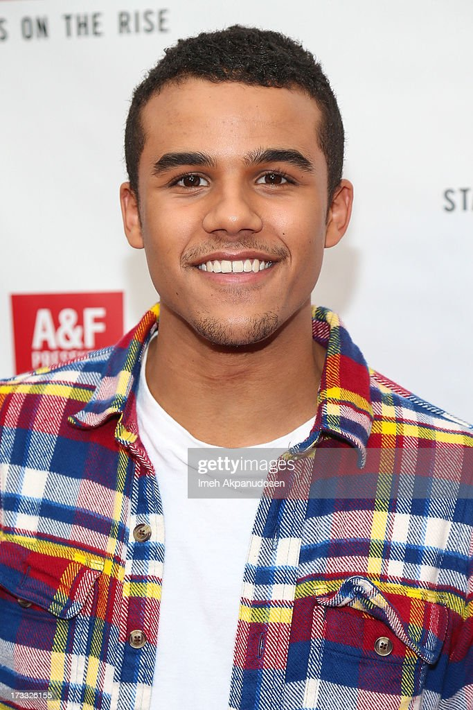 Actor Jacob Artist attends Abercrombie & Fitch's presentation of their 2013 Stars on the Rise at The Grove on July 11, 2013 in Los Angeles, California.