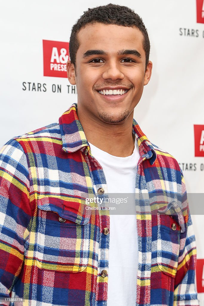 Actor Jacob Artist attends Abercrombie & Fitch's 'Stars on the Rise' event at Abercrombie & Fitch on July 11, 2013 in Los Angeles, California.