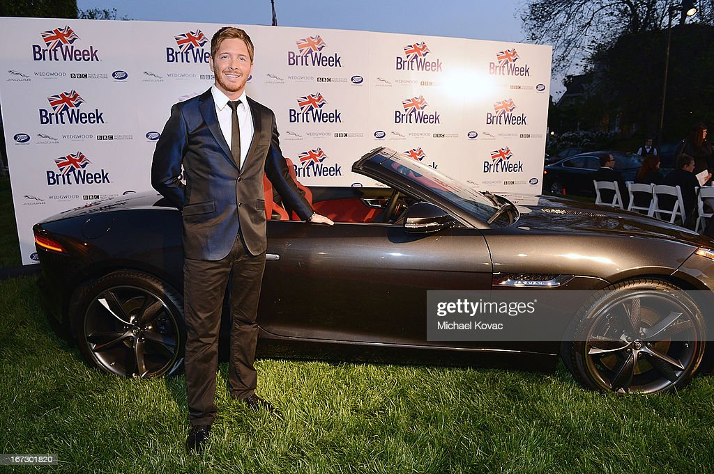 Actor Jacob Diamond attends the BritWeek Los Angeles Red Carpet Launch Party with Official Vehicle Sponsor Jaguar on April 23, 2013 in Los Angeles, California.