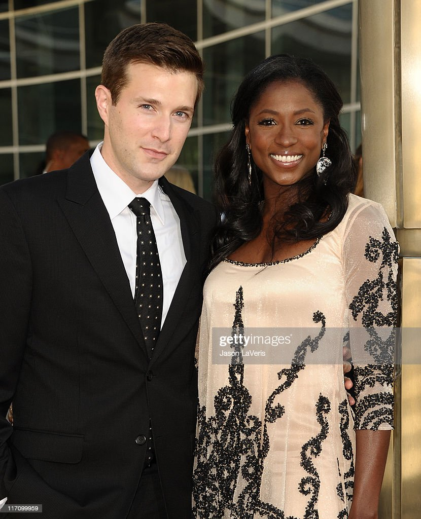 Actor Jacob Fishel and actress <a gi-track='captionPersonalityLinkClicked' href=/galleries/search?phrase=Rutina+Wesley&family=editorial&specificpeople=4052226 ng-click='$event.stopPropagation()'>Rutina Wesley</a> attend the premiere of HBO's 'True Blood' at ArcLight Cinemas Cinerama Dome on June 21, 2011 in Hollywood, California.