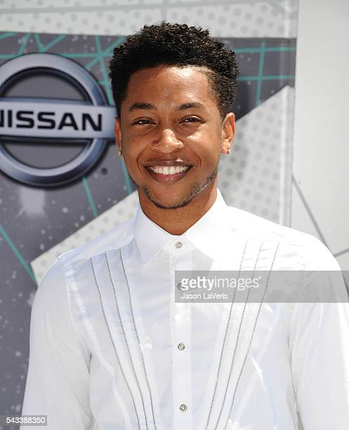 Actor Jacob Latimore attends the 2016 BET Awards at Microsoft Theater on June 26 2016 in Los Angeles California
