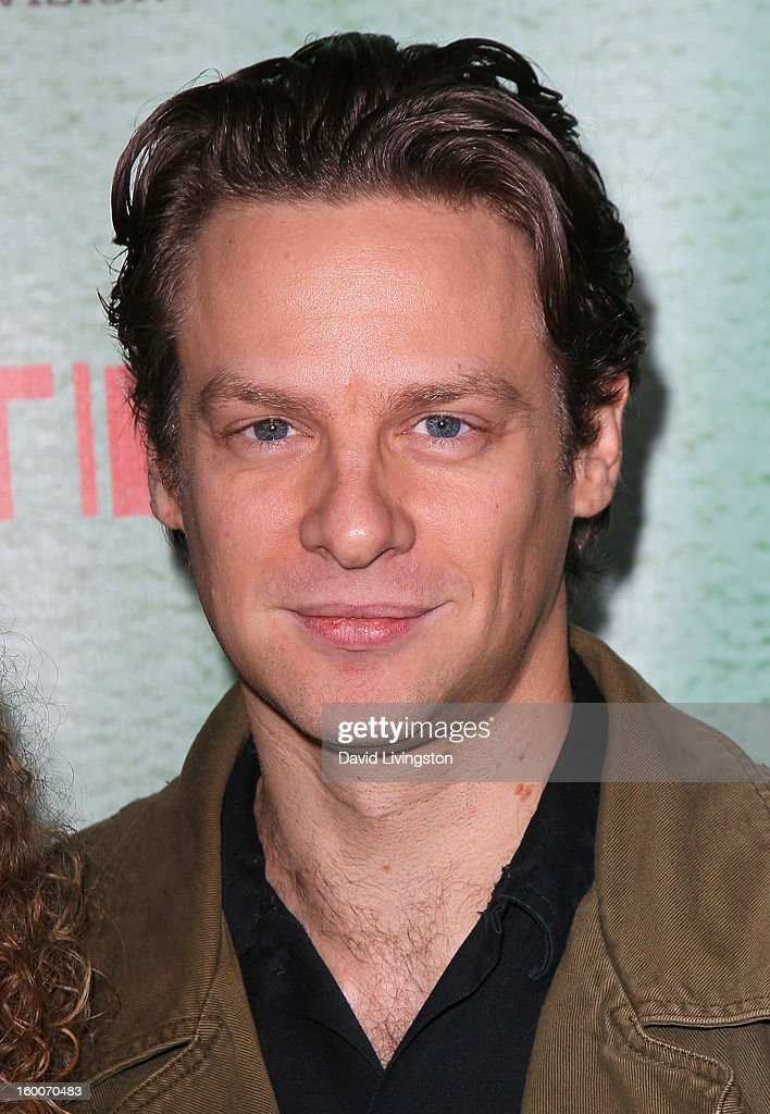 Actor Jacob Pitts attends the premiere of FX's 'Justified' Season 4 at the Paramount Theater on the Paramount Studios lot on January 5, 2013 in Hollywood, California.