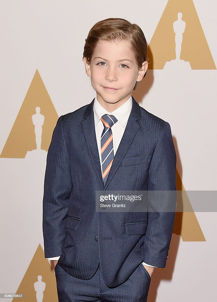 Actor <a gi-track='captionPersonalityLinkClicked' href=/galleries/search?phrase=Jacob+Tremblay&family=editorial&specificpeople=11194896 ng-click='$event.stopPropagation()'>Jacob Tremblay</a> attends the 88th Annual Academy Awards nominee luncheon on February 8, 2016 in Beverly Hills, California.